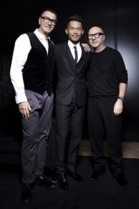 Lin Dan With Dolce and Gabbana
